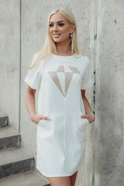 eec97dfe2c6 WHITE DIAMOND DRESS
